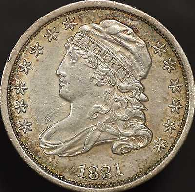 1831 Capped Bust Dime Choice Almost Uncirculated