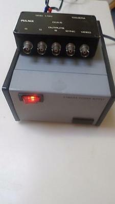 Pulnix Model CCA-5 Video Camera Controller with Power Supply