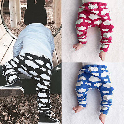 Cloud Baby Toddler Infant Boy Girl Unisex Trousers Leggings Pants Tights