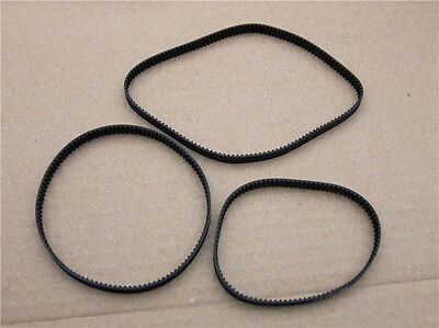 NEW 6mm wide synchronous wheel Transmission belt rubber 2GT closed toothed belt