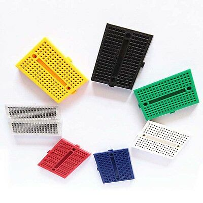 Colorful 10x SYB-170 Solderless Breadboard 170 Tie Points For ProtoShield UNO R3