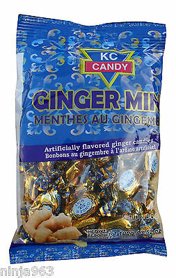 KC Candy Ginger Mint 100g (2 packs)
