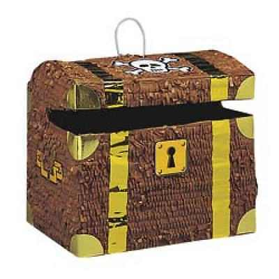 Treasure Chest Birthday Pinata Pirate Party Girl Boy Kids Party Game