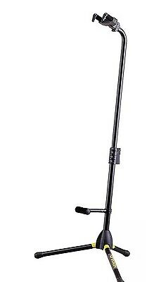 --NEW-- Hercules Guitar/bass Stand (GS412B ) With Folding Support .Free P &  P
