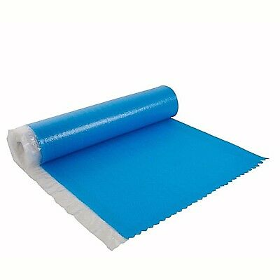 Diall 3mm Laminate & Solid Wood Flooring Vapour Barrier Foam Underlay 15m² -NEW