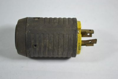 Pass & Seymour L1520-P Turnlok Plug 20A 250V 3-Pole 4-Wire  USED