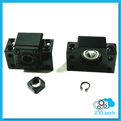 Zyltech BF12 BK12 End Support Bearing Block for Ball Screw 1605