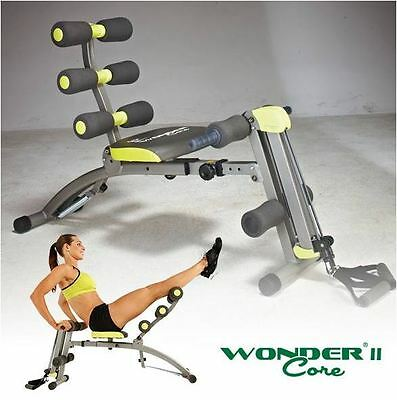 Wondercore Ii Machine Core Abs Fitness Home Exercise Equipment Toning Workout Ab