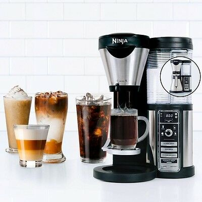 Ninja Coffee Bar Brewer With Stainless Steel Carafe Coffee Maker Machine NEW