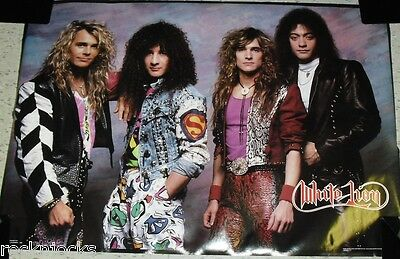 WHITE LION 1988 80s Poster (ORIGINAL NOT A REMAKE) Vintage 80s Music Rock New!!!