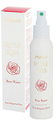 ROSE KISS WATER 100% NATURAL PURE Mist Spray Flower FACE HAIR BODY MIND Toner