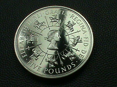 GREAT  BRITAIN    5  Pounds    1993     PROOF