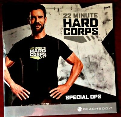 BEACHBODY 22 MINUTE HARD CORPS Spec Ops DVD Workout New Sealed