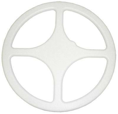 NUGGET FINDER 18'' (WHITE 4-Spoked STYLE) SKID PLATE COVER