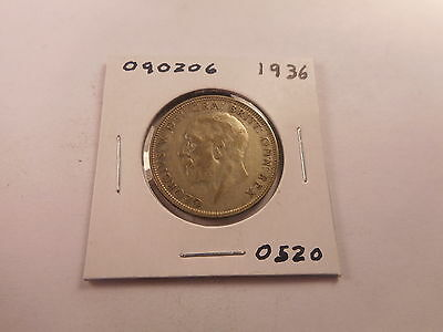 1936 Great Britain One Florin - Very Nice Collectible Coin - # 090206