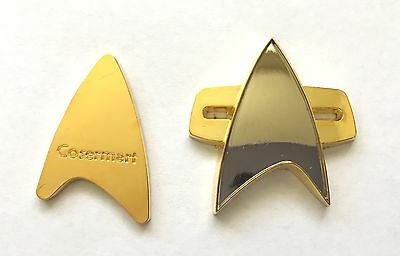 Star Trek DS9/Voyager Communicator Badge Prop Replica (Magnet Attachment)