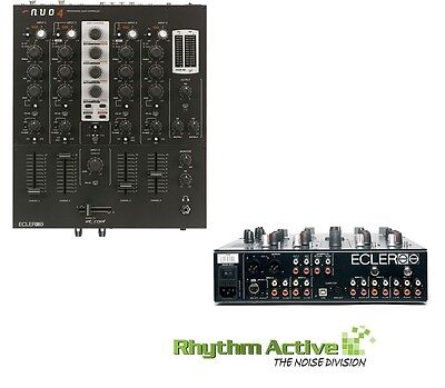 Ecler Nuo4 Professional Grade 4-Channel Dj/audio Mixer With Midi+Traktor Nuo-4