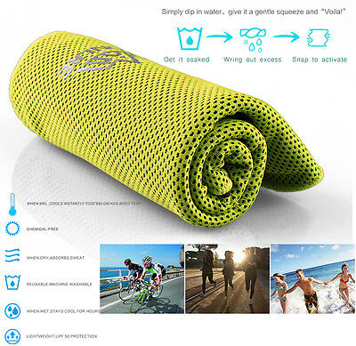 Sport Towel Gym Quick Dry Outdoor Travel Camping Swimming Hiking Washcloth New
