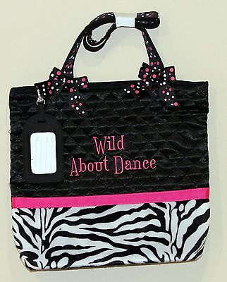 Sassi Bags WLD-06 Wild About Dance Quilted Tote