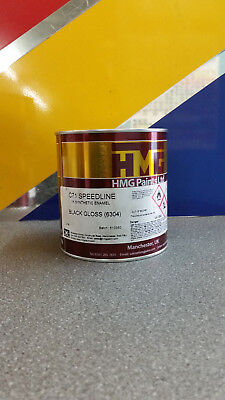 Synthetic Enamel Paint BLACK GLOSS 1L Car or Commercial