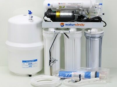 *SALE* Complete set 5 stages undersink RO reverse osmosis water filter with PUMP