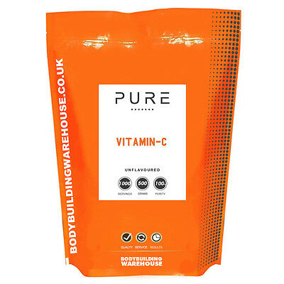 Vitamin C Powder - 100% Pure Pharmaceutical Grade Ascorbic Acid (1kg)