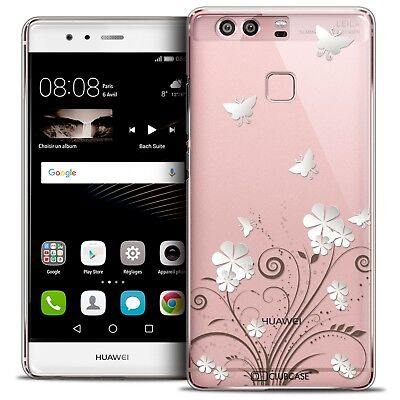 Coque Crystal Rigide Pour Huawei P9 Extra Fine Rigide Summer Papillons