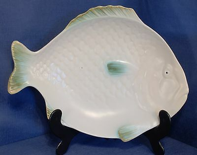 A Fish Shaped Platter by Shorter & Son Stoke on Trent