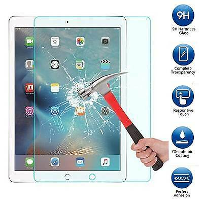 Tempered Glass Screen Protector Guard Shield Armor For iPad Pro 12.9 + 2 LED Pen
