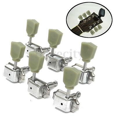 3R 3L Set Deluxe Guitar Tuning Pegs Keys Machine Heads Tuners For Gibson Style