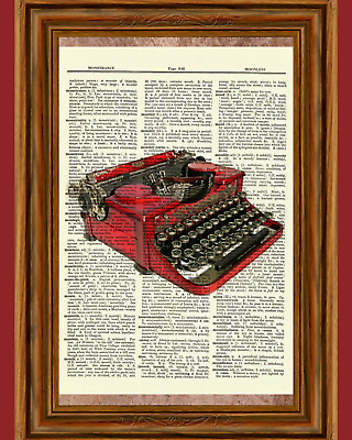 Home Sweet Home Dictionary Art Print Picture Poster House Warming Gift Moving