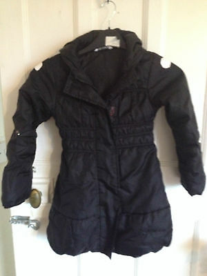 girls marks and  spencers coat good condition size  5-6 years