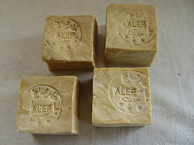 LOT 4 SAVONS ALEP 200 g   SOAP  K 183