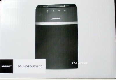 bose soundtouch 10 schwarz bluetooth wlan lautsprecher neu ovp eur 183 00 picclick de. Black Bedroom Furniture Sets. Home Design Ideas