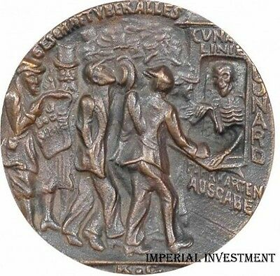 Bronze Medal Karl Goetz - The Sinking Of The Lusitania  05.may1915  #375