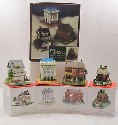Liberty Falls Village Set in Original Box