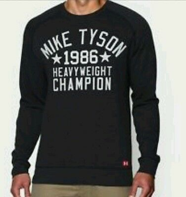 Under Armour UA Roots Of Fight Boxing Mike Tyson Sweatshirt M L XL Or 2XL NWT