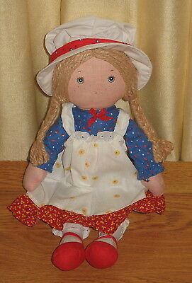 """Vintage """"HOLLY HOBBIE"""" Doll 12"""" Excellent """"Never Played-With"""" Condition"""