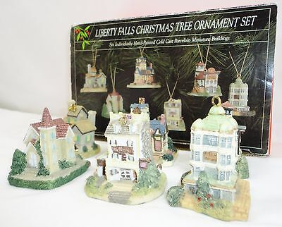 Liberty Falls Christmas Tree Ornament Set