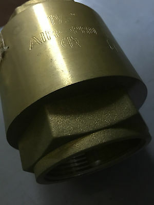 "Air Pro Brass Check Valve 1 1/2"" BSP Female"