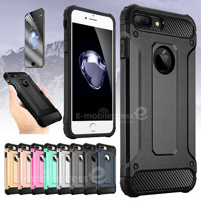 Shockproof Anti Dust proof Silicone Hybrid Case Cover for Apple iPhone 7 8 Plus