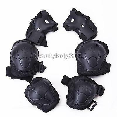 Children Cycling Roller Skating Knee Elbow Wrist Pads Protective Guard