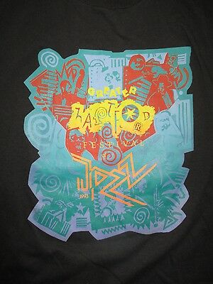 1993 Greater Hartford JAZZ Festival (XL) Shirt DIXIE 4 + 1 COLLECTIVE EXPRESSION