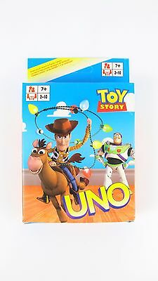 Toy Story UNO CARDS Family Fun Playing Card Educational Theme Board Game