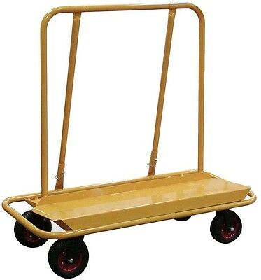 Drywall Cart Dolly Panel Drywall Plywood Ceiling Rolling Wheels 3000 Lb. Load