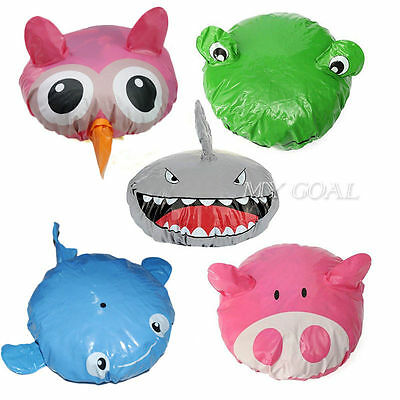Animal Shower Cap Bath Time Shower Hat Travel Waterproof Hair Cover Protector
