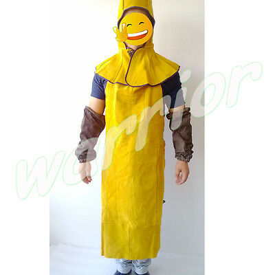 Heat Prevent Welding Sleeves Apron and Mask