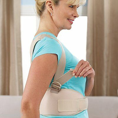 Royal Posture Align Support Spine Belt Back Correct Brace  - Men & Women