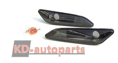 Alfa Romeo 156 / 147 Front Side Smoked Indicators Blinkers Repeater Set