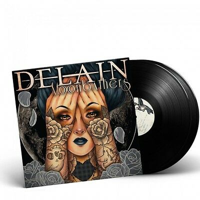 DELAIN - Moonbathers / BLACK 2-LP Gatefold NEW/NEU